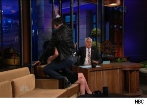 Craig Ferguson Gives Rose Byrne a Lap Dance on 'The Tonight Show'