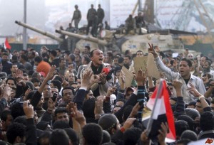 Egyptians extend protest, say army not doing enough